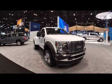 2020 Ford F-450 Super Duty STX at the 2019 Chicago Auto Show