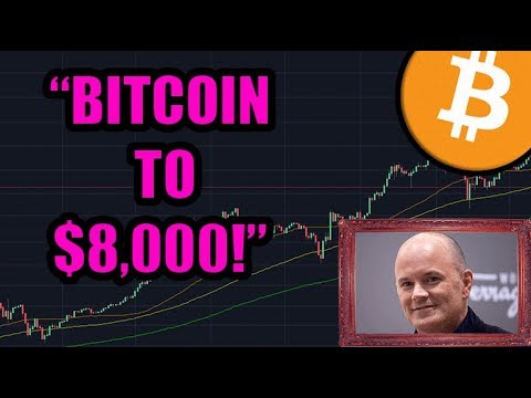 Bitcoin to 8000!? Does Mike Novogratz's Institutional Prediction Hold Water? + Blockchain Whispers