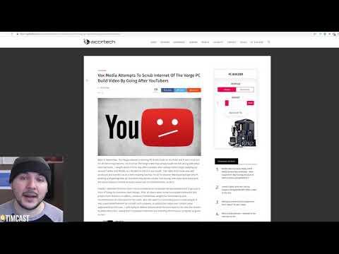 VOX/Verge Accused Of FALSE STRIKES Against Critics On Youtube