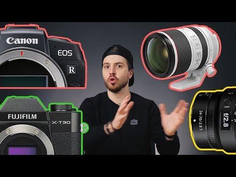 Canon EOS RP, Fuji X-T30 и другие подарки на день Святого Валентина