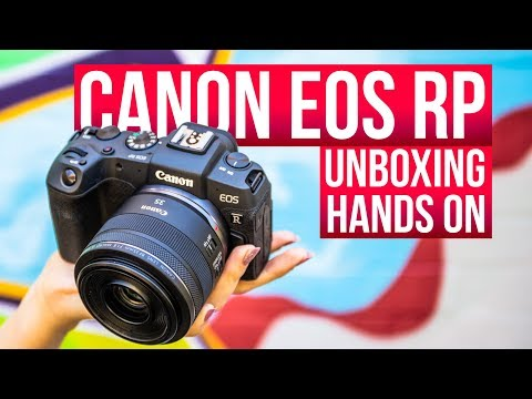 NEW Canon EOS RP – Unboxing and first impressions review