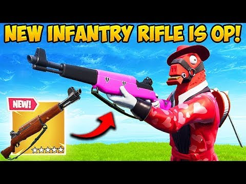 *NEW* INFANTRY RIFLE IS INSANE! – Fortnite Funny Fails and WTF Moments! #470