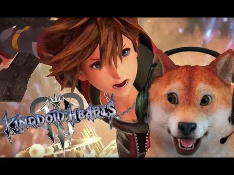 KINGDOM HEARTS 3! Doge plays 1080p60 PS4 Gameplay LIVE