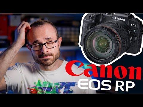 CANON EOS RP – La Cámara Fullframe más Barata