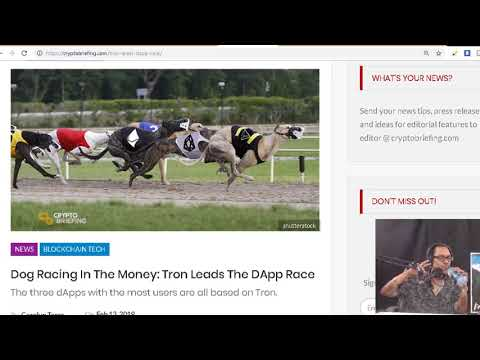JPMorgan just launched its own cryptocurrency.  Tron Leads The DApp Race. Bitcoin Whales gearing up