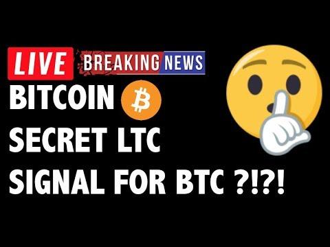 Litecoin SECRET SIGNAL for Bitcoin Price?! -Crypto Market Trading Analysis & BTC Cryptocurrency News