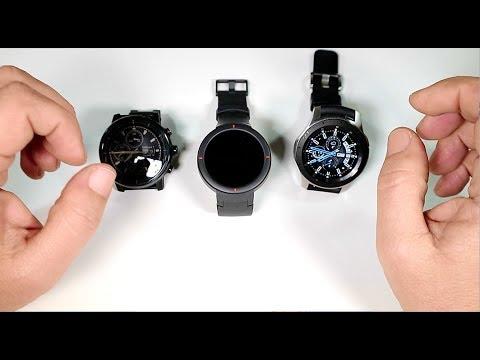 Το Amazfit Verge, το Stratos και Galaxy watch κάνουν παρέα. Τόσο ίδια, αλλά τόσο διαφορετικά!