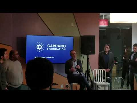 Nathan Kaiser Chairperson of Cardano Foundation AMA – Cardano Meetup in NYC