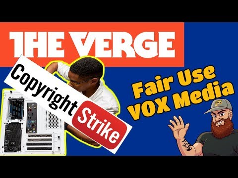"The Verge is Copyright Striking ""How to Build a PC"" Reaction Videos!!"