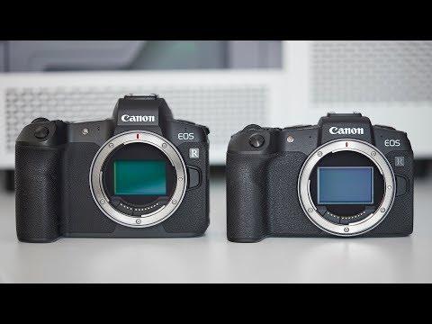 Porovnanie Canon EOS R vs RP