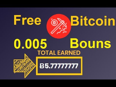 New Free Bitcoin Cloud Mining Site 2019 | 005 Bitcoin Free
