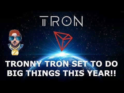 TRON TRX SET TO DO BIG THINGS IN 2019!