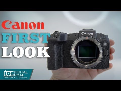 Checkout the NEW Canon EOS RP | First Look
