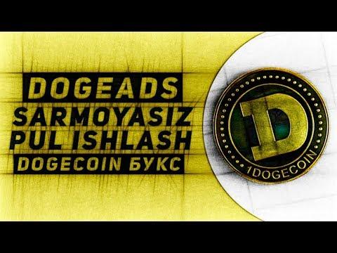 DOGEADS SARMOYASIZ PUL ISHLASH / DOGECOIN БУКС