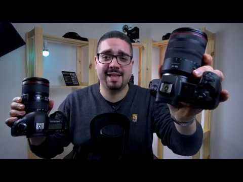 Canon Eos R vs Canon 5D Mk IV – Lo scontro in casa!