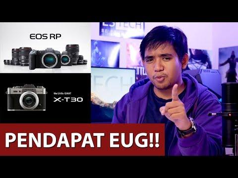 Canon EOS RP Mengecewakan? Workshop YouTube dan Bahas Fujifilm X-T30 #TalkAjah