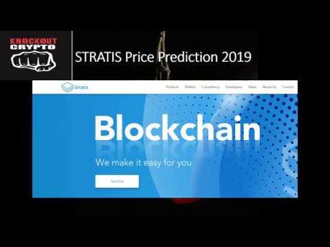Stratis Price Prediction 2019