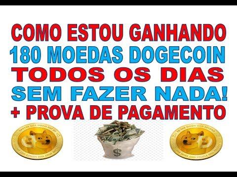 ESTOU GANHANDO +180 DOGECOIN SEM FAZER NADA! NOVAS MINERADORA DE DOGECOIN