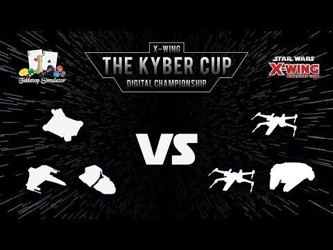 The Kyber Cup Season 2   X-Wing 2nd Edition   Swiss Rnd 1   Erick vs. NotSlap