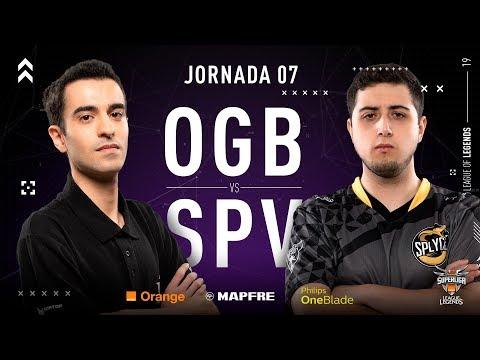 ORIGEN BCN VS SPLYCE VIPERS | Superliga Orange League of Legends | Jornada 07 | Temporada 2019