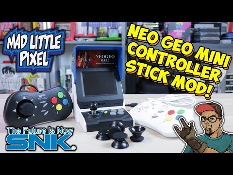 Fix The Neo Geo Mini Controller With A Stick Modification!