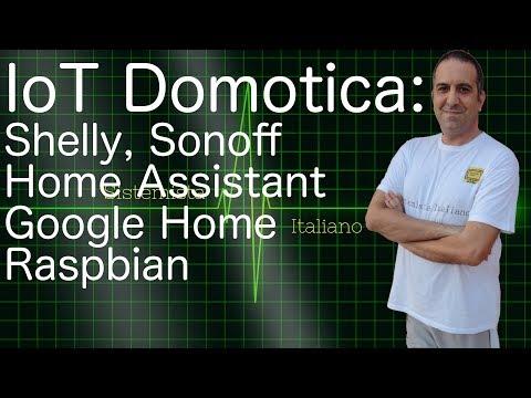 [IOT] – Domotica: Home Assistant su Raspberry (Raspbian)