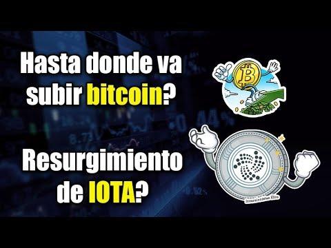 hasta donde va subir bitcoin?, resurgimiento de IOTA?, portafolio de Vitalik buterin