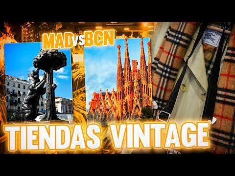 ¿DONDE HAY MEJORES TIENDAS VINTAGE? BCN VS MADRID