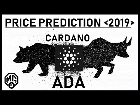 CARDANO~ADA~PRICE PREDICTION 2019: REALISTIC/PRAGMATIC