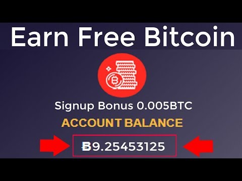 Earn Free Bitcoin New Free Mining Site 2019 | Signup Bonus 0.005 BTC