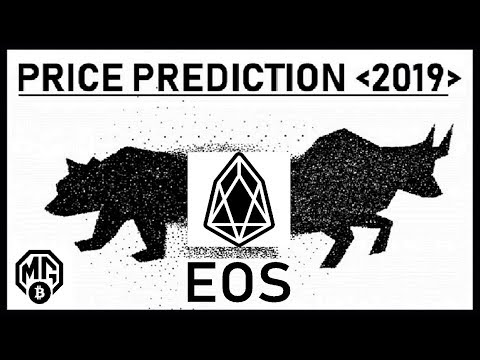 EOS PRICE PREDICTION 2019: REALISTIC/PRAGMATIC