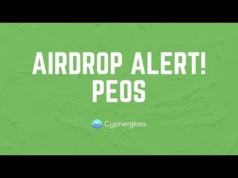 AIRDROP ALERT: pEOS (Private Transactions on EOS)