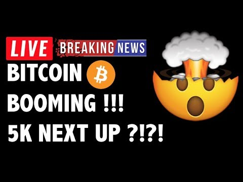 Bitcoin (BTC) Price BOOMING TO 5K NOW?! – Crypto Market Trading Analysis & Cryptocurrency News 2019