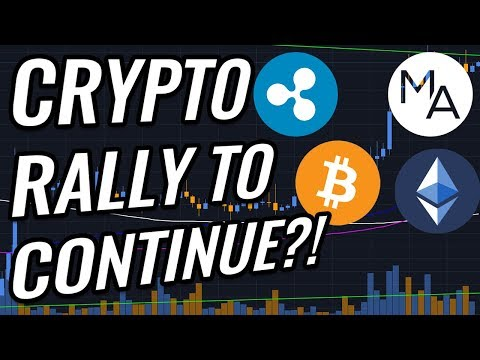 Will The Bitcoin & Crypto Markets Rally CONTINUE?! BTC, ETH, XRP, Cryptocurrency & Stocks News!