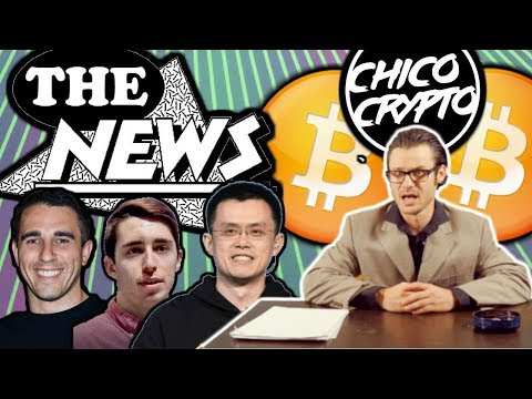 Crypto News w/ Chip: CZ Binance Hacked Chico? Pompliano Kisses Booty. Data Dash Jail?