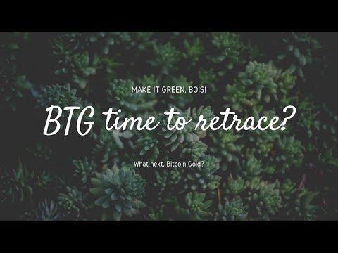 $12 Bitcoin Gold BTG Technical Analysis (20 Feb 2019)