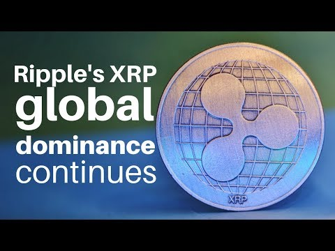 CRYPTOCURRENCY – Ripple / XRP global DOMINANCE continues – XRP Price