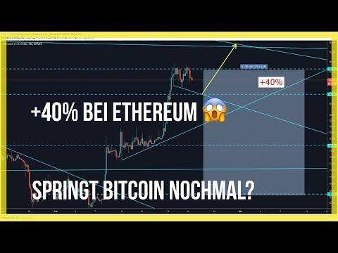 ?3900$ Springt Bitcoin nochmal? Ethereum mit? Was machen Tron und Komodo?