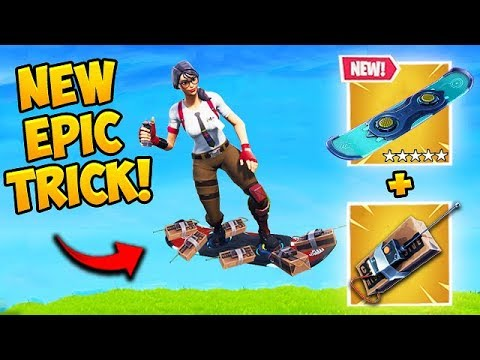 DON'T USE C4 ON DRIFTBOARD! – Fortnite Funny Fails and WTF Moments! #476