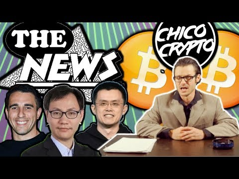 Crypto News w/ Chip: CZ  Hacked Chico? Pompliano Kisses Booty. Neo+Binance?