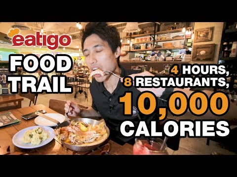 Singapore Food Trail – 10,000 Calories Cheat Day Challenge!