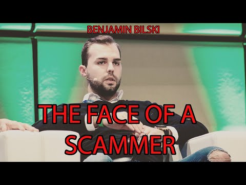 "BENJAMIN BILSKI ""THE FACE OF SCAMMER"""
