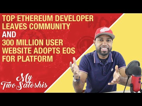 Afri Schoedon Leaves Ethereum and Tapatalk w/ 300 Mln Users  Selects EOS For Blockchain Adoption