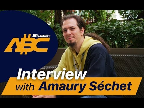 Talking with Amaury Séchet about Bitcoin Cash and its future