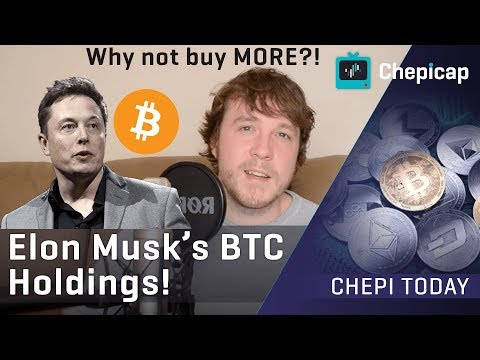 Elon Musk reveals Bitcoin holdings!!! Why isn't he buying MORE?! | Cryptocurrency News | Chepicap