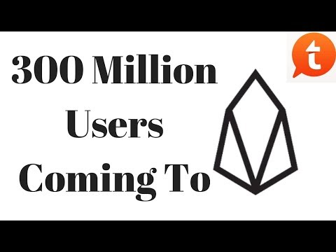 300 Million Users Coming To EOS – Major Announcement