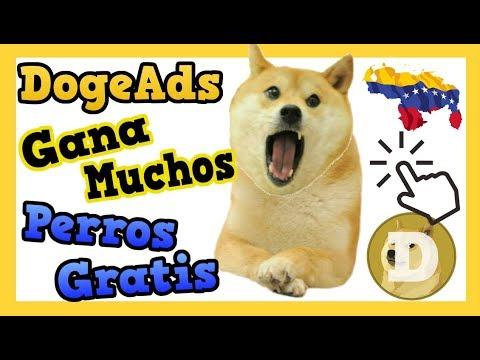 DogeAds ▶ Gana Dogecoin Viendo Anuncios Completamente Gratis | La mejor PTC
