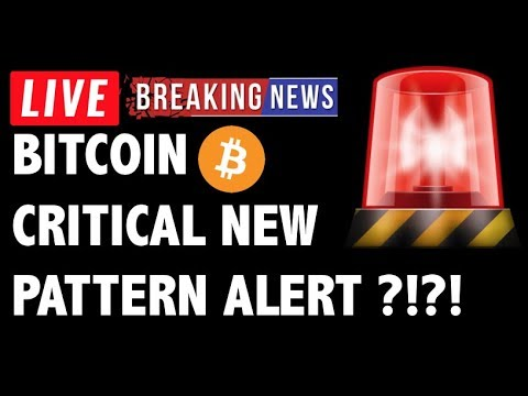 Bitcoin NEW CRITICAL PATTERN?! – LIVE Crypto Market Trading Analysis & BTC Cryptocurrency Price News