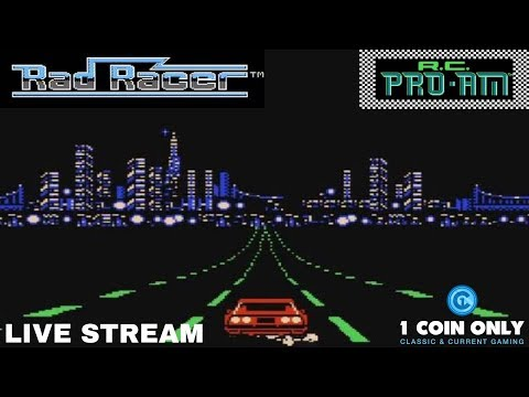 Rad Racer & R.C. PRO-AM (NES)