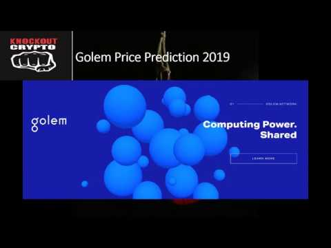 Golem Price Prediction 2019